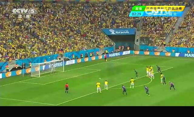 【进球】荷兰首波攻势获点球 范佩西一蹴而就截图