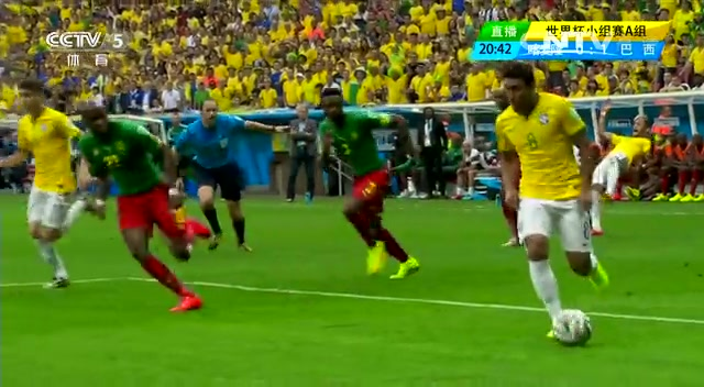 全场集锦:喀麦隆1-4巴西 内马尔2球截图