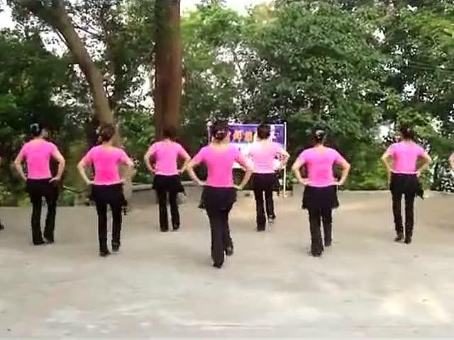 百家广场舞_北京的金山上