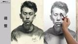第九十六集 朱传奇男青年素描头像示范加快版 (71播放)