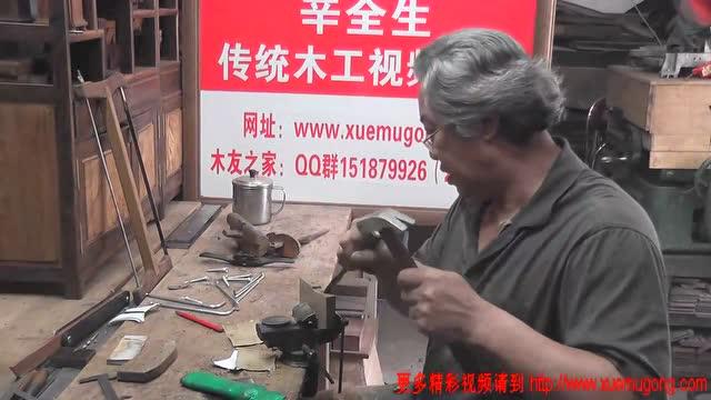 外国木匠雕刻视频