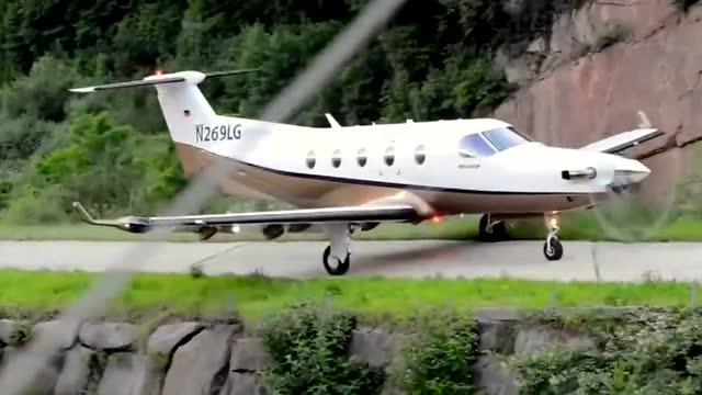 性能卓越的皮拉图斯pc12飞机