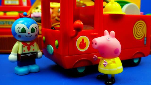 小猪佩奇 消防车