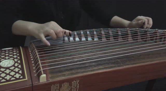 极乐净土的古筝曲谱