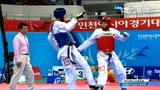 视频:跆拳道男子68kg级 黄建南遗憾摘银
