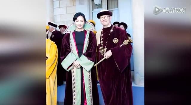 刘嘉玲法国获授勋 花园派对酒不离手截图