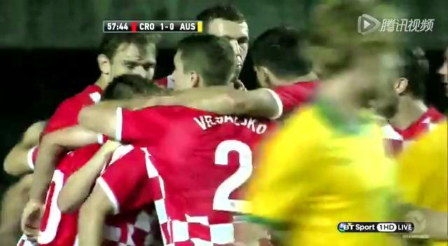 全场集锦:克罗地亚1-0澳大利亚 耶拉维奇破门截图