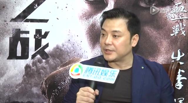 访《英雄之战》导演虞军豪:我的电影不是传销电影截图