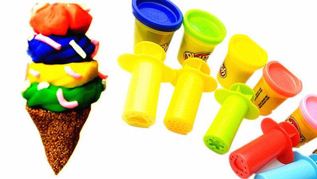 手工制作diy冰淇淋雪糕与迪斯尼玩具惊喜蛋蝙蝠侠托马斯小火车