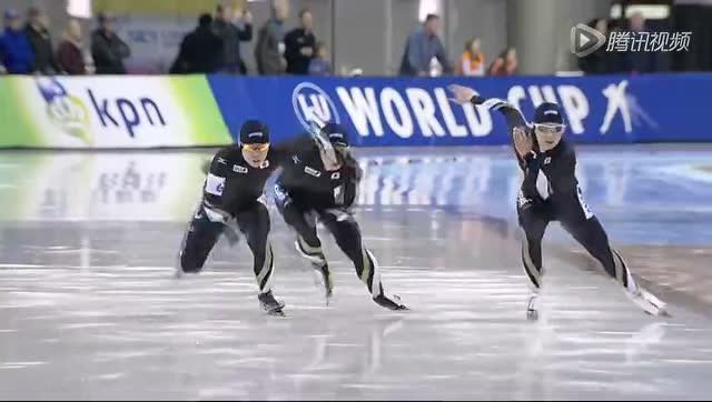 短距离团体追逐赛张虹率中国女队摘金截图