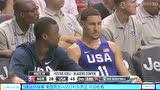 美国vs尼日利亚第2节  杜兰特杀入篮下单手劈扣