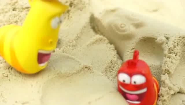 爆笑虫子的海边度假