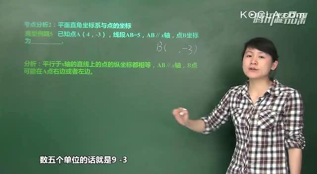 平面直角坐标系-数学知识点专题