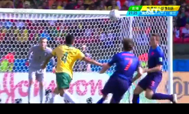 【荷兰集锦】澳大利亚2-3荷兰 范佩西罗本各入一球截图