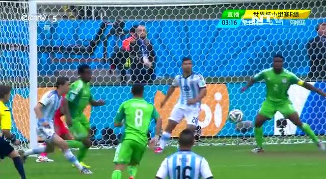 全场集锦:尼日利亚2-3阿根廷 梅西梅开二度截图