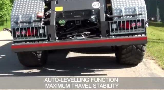 拖拉机配主动液压悬挂,看起来真的高端图片