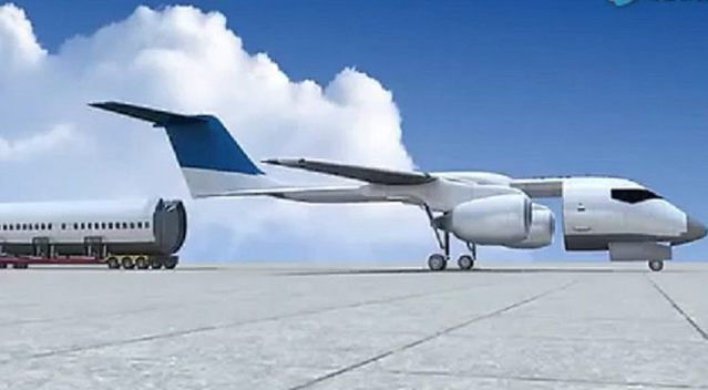 分体式飞机设计方案面世