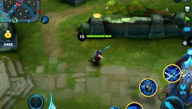 王者荣耀 测试防御塔的炮弹可以追你多远!还追?