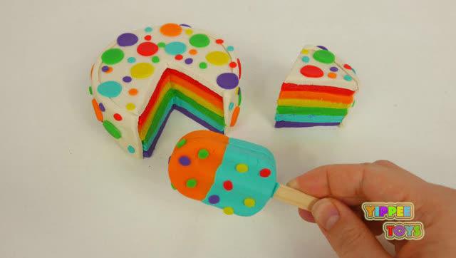 创意diy彩泥粘土制作蛋糕捏橡皮泥冰淇淋雪糕