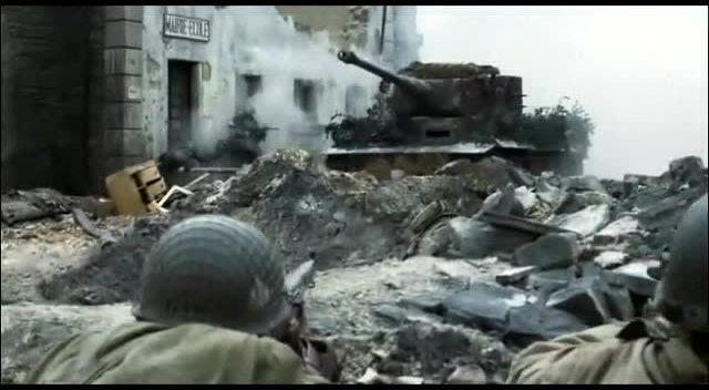 电影中的经典的二战战争场面,你能说出几个