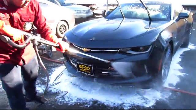 自己洗车的步骤