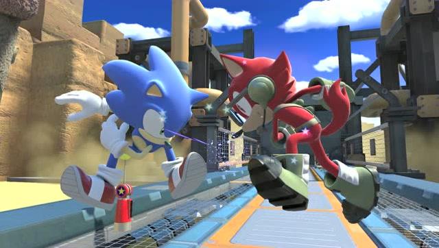 索尼克力量30秒PS4版