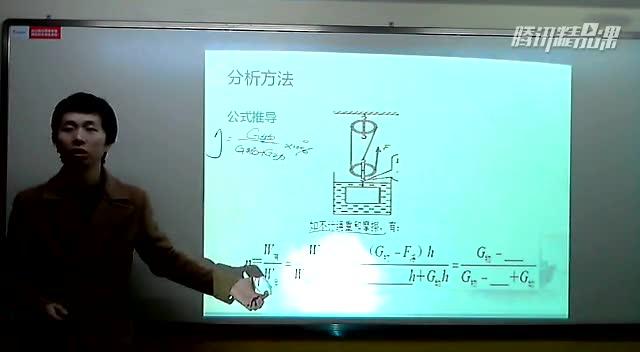含有浮力的机械效率的计算--安老师物理课堂