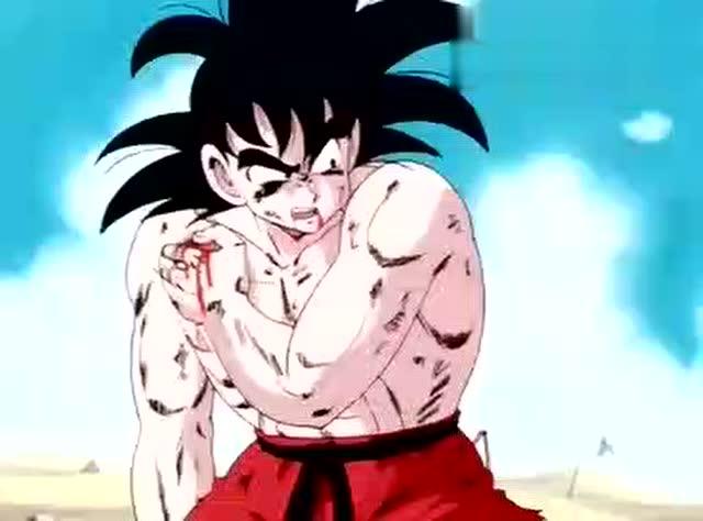 孙悟空身体被打穿流血,手断了还没死,继续战斗到最后!图片