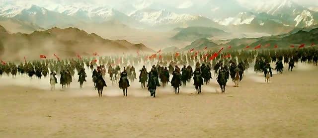 罗马帝国军队进攻汉朝雁门关,汉朝守将贸然出击,结果中了圈套