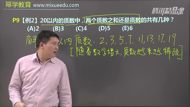 2015年幂学管理类联考陈剑数学基础班第一讲(1)