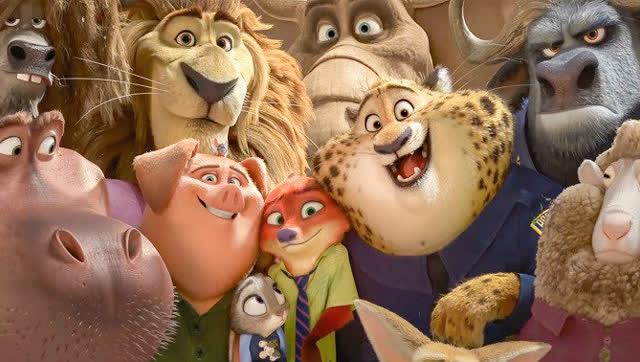 迪士尼动画电影进化从《白雪公主和七个小矮人》到《疯狂动物城》