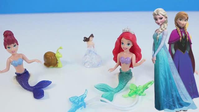芭比娃娃安娜公主过家家厨房浴池梳妆台化妆橡皮泥奇趣蛋