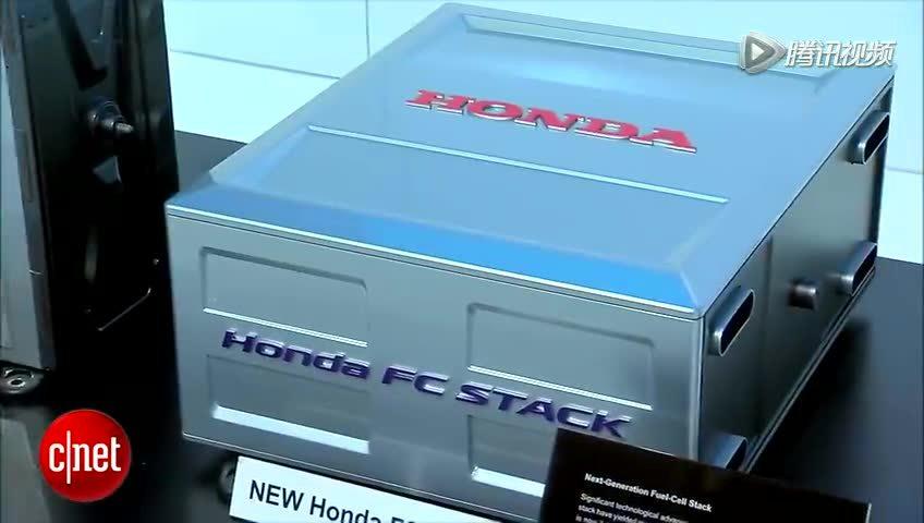 本田发布FCV氢燃料电池概念车截图