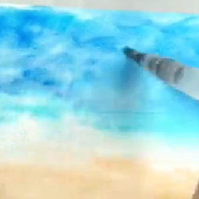 水彩画风景教程