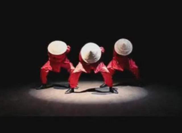 中国风创意街舞国外火爆登场图片
