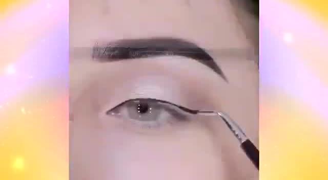 怎么画眼线步骤视频教程