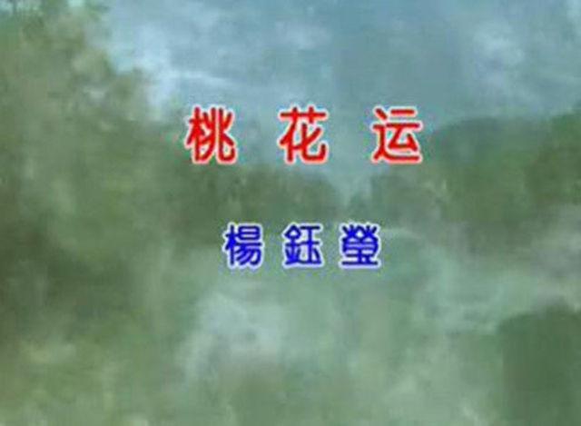 杨钰莹《桃花运》太醉人的一首歌!