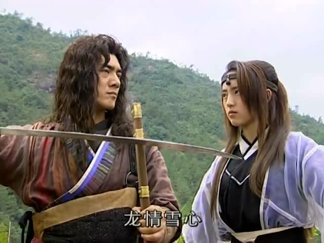 怀旧:电视剧《雪花女神龙》大结局片段