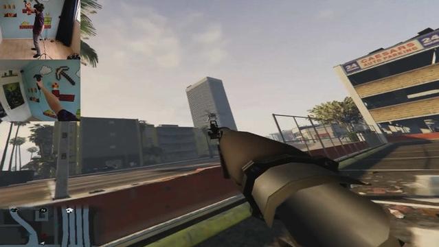 GTA5 VR移植版實操:真角色扮演
