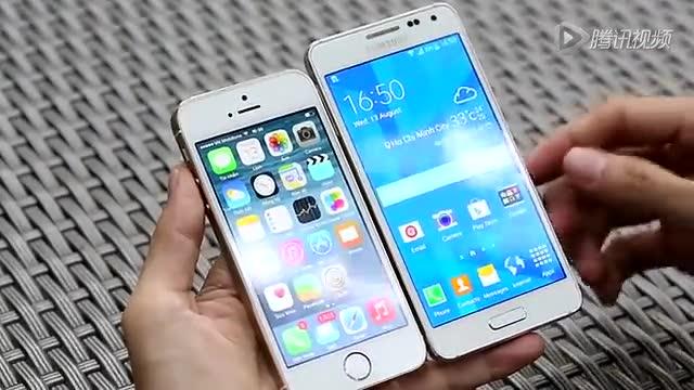 Galaxy Alpha vs iPhone 5S详细对比测试