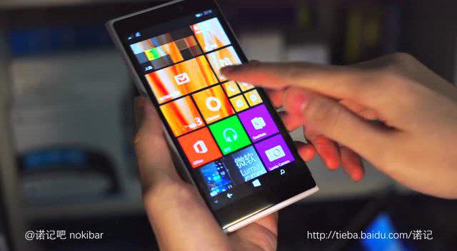 诺基亚Lumia 935 McLaren竟也可支持3D Touch