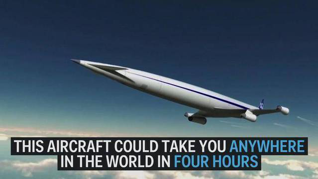 速度惊人!超速飞机4小时抵达地球任意地点