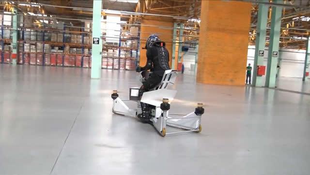 世界首台飞行摩托真人实测