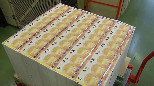 50欧元制造过程,用上好的棉花制作而成!