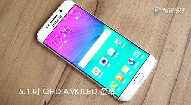 雙曲面Galaxy S6 Edge中文動手玩