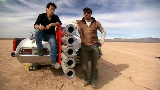 厉害了!这是将汽车当成火箭发射呀