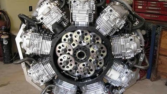 10大震撼的自制发动机,第一名很暴力!