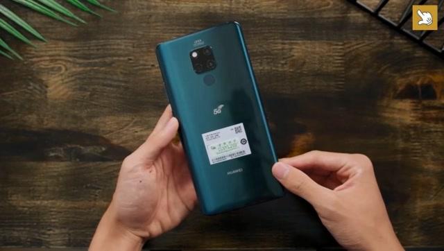 5G雙模手機真的來了!華為Mate 20 X 5G版開箱體驗