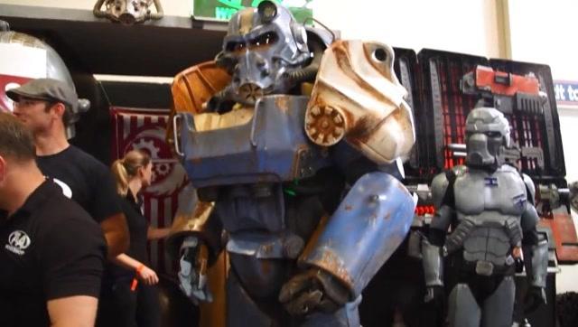 牛人打造《辐射4》T-60动力装甲,太帅了!