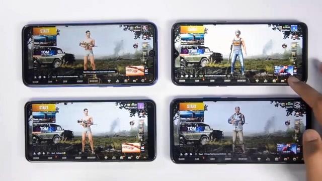 谁性能最强?红米Note7 Pro等四款主流手机吃鸡游戏体验